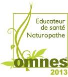logo de l'OMNES naturopathe membre de l'OMNES